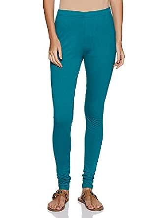 BIBA Women's Chudidar Bottom (MNMVRINDAVA14551_Teal Blue_M)