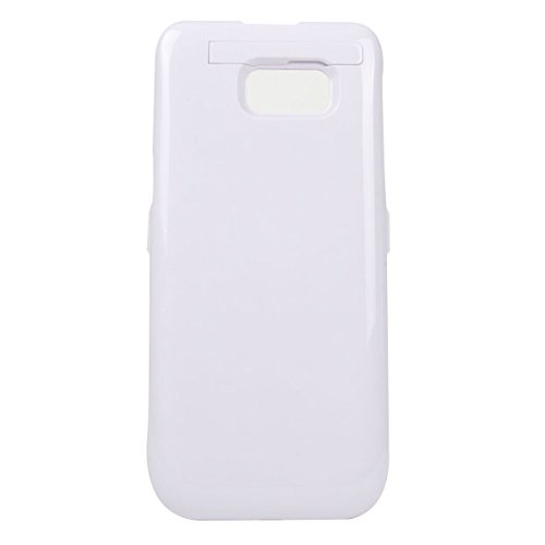 Custodia Batteria Galaxy S6 Edge+, BasicStock 5200mAh Li-Polymer Portatile Ricaricabile Esterna Integrata Power Bank Charger Juice Pack Protettiva Battery Case Cover per Samsung Galaxy S6 Edge Plus