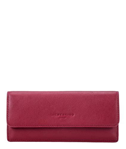 Liebeskind Berlin Damen Basic Slg - Marina Wallet Large Geldbörse, Rot (Dahlia Red), 1x10x20 cm