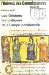 Les origines linguistiques de l'europe occidentale