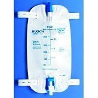 Rusch Easy Tap Urinary Leg Bag with Flip Valve, Medium, 500ml/19 oz, 48/Bx by Teleflex Medical Inc preisvergleich bei billige-tabletten.eu
