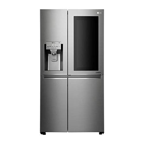LG gsk6676sc Autonome 601L A + + Acier inoxydable frigo américain Autonome, Acier inoxydable, porte Américaine, LED, r600a, verre)