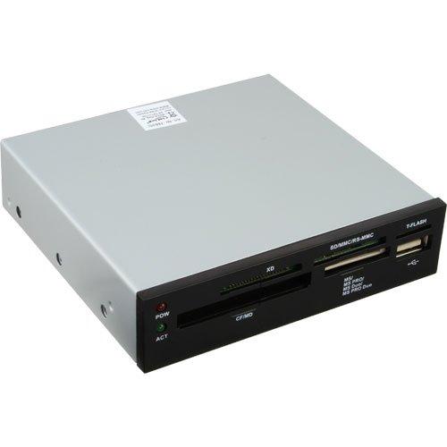 InLine 76635I - Lector (CF, MMC, SD, SmartMedia, xD, 8, 89 cm...