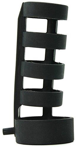 Power Cage Penissleeve für Elektrosex E-Stim 12 cm lang Schwarz Zeus Electrosex