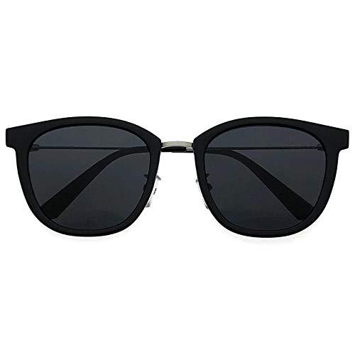 fuqiuwei Sonnenbrillen Einfache Und Vielseitige Temperament Sonnenbrille Quadratische Sonnenbrille Weibliches Großes Gesicht Dünnes Gesicht Retro Brille Männlich