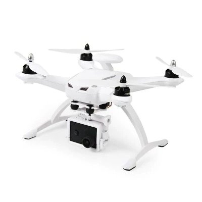 RC Drone Quadcopter CG035 Double GPS RTF WHITE with WiFi FPV 1080P Full HD Optical Flow Positioning System Follow Me Mode by SYMTOP