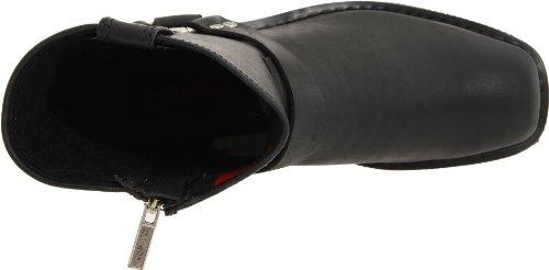 Harley Davidson EL PASO D94422, Stivali uomo Nero (Schwarz (black))