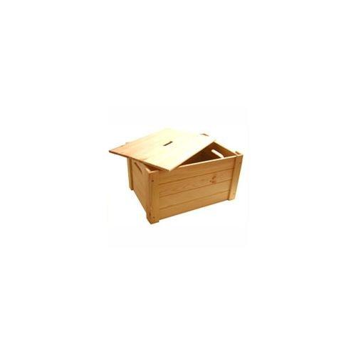 CONTENITORE BOX LEGNO LINEAR 53X39 H 29