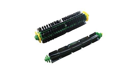 Kit di spazzole per iRobot Roomba della serie 500: spazzola di setola e spazzola flessibile (alternativa ai 82501, 82301)