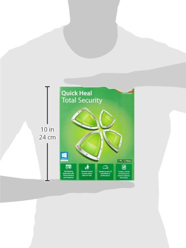 Quick Heal Total Security - 1 PC, 3 Years (DVD)