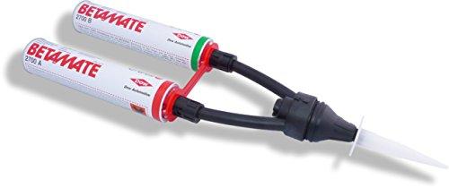 Betamate E2700 | 2 x 290 ml | Dow Automotive | Hochviskose 2-Komponentige Klebmasse Dichtungsmasse auf Polyurethan-Basis | Klebstoff Kleber Dichtmasse | schnell härtend | 2K Polyurethanprepolymere