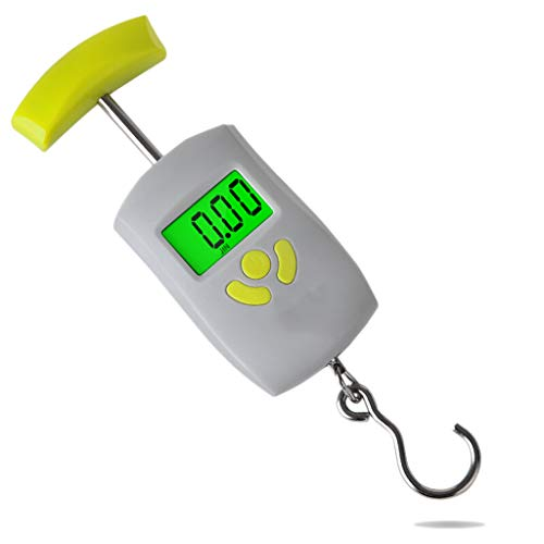 Nombre: Balanza portátil electrónica de pesaje portátil.Rango de medición: 506050KGTamaño: 20.5 * 2.2 * 5.5 CMRango de error: ± 0.02KGPantalla: LCD verde LCDMaterial: plástico ABS de ingeniería exterior platillo + ABS mango + gancho de acero diez + s...
