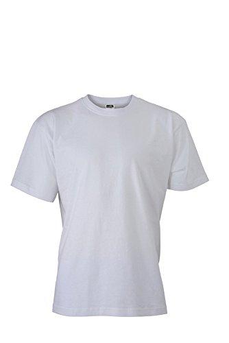 JN747 Basic-T T-Shirt aus Single-Jersey White