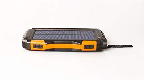 Eignet High Capacity 25000mAh Solar Power Bank for Trekking, Climbing, Tour, Journey, Trips (Orange) Image 2