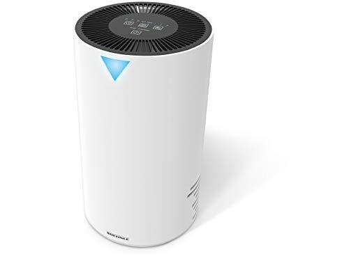 Soehnle Airfresh Clean 300 Luftreiniger beschützt vor Allergenen, Luftwäscher für effiziente Luftreinigung, Air Purifier ideal für Allergiker