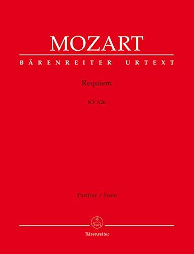 Requiem. Das von Franz Xaver Süßmayr vervollständigte Requiem in der traditionellen Gestalt. Partitur, Urtextausgabe. BÄRENREITER URTEXT