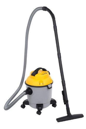 Powerplus POWX321Drum Vacuum Cleaner 18L 1000W schwarz, grau, gelb Staubsauger-Staubsauger (Drum Vacuum, trocken und naß, professionell, Teppich, Hartböden, schwarz, grau, gelb, Kunststoff)