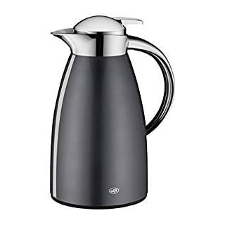 Alfi 1421.268.100 Thermal Jug, Stainless Steel, Slate, 17.5 x 14.5 x 27.5 cm