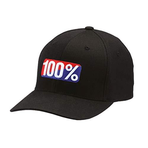 100% Herren Og Baseball-Cap, Schwarz, X-Large -