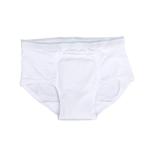 Artibetter Erwachsene Inkontinenz Unterwäsche Ultimative Komfort Saugfähigkeit Waschbare Harninkontinenz Baumwolle Kurze Unterwäsche S