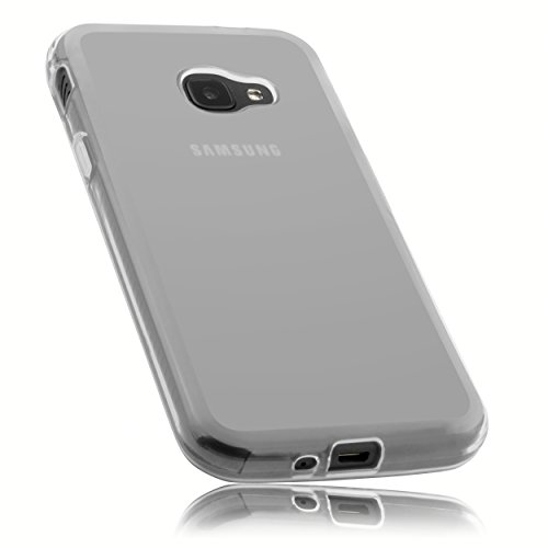 mumbi Schutzhülle für Samsung Galaxy Xcover 4 Hülle transparent weiss