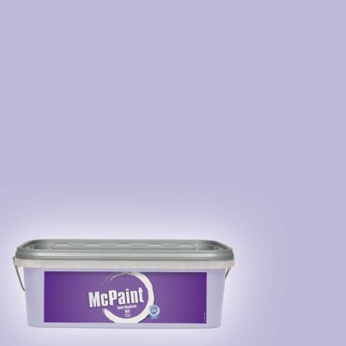 McPaint Bunte Wandfarbe matt Lilac 2,5 Liter