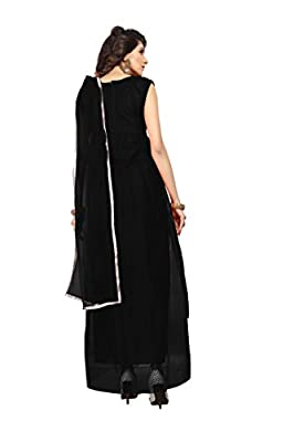 Florence Women's Net Party Wear Designer Semi-stitched Gown