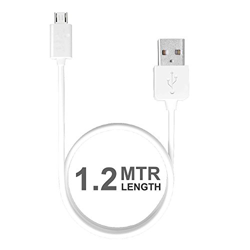 CELLTELL Compatible Samsung Champ Neo Duos C3262 (C 3262) | Micro USB Fast Charging Cable | Sync Cable | Charger Cable For Power Bank, Bluetooth Earphones, Car Charger | Quick Charge Cable Speed Upto 2.4 Amp | High Speed Data Transfer Cable With Mobile Tablet PC Laptop Android Smartphone V8 Cable ( 1 Meter, White, Black)  available at amazon for Rs.240