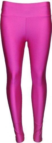High Waist Wet Look Leggings - S/M - Choice of Colours