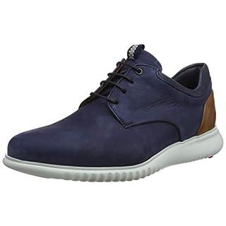 LLloyd Men's Aristo Low-Top Sneakers, (Pacific/Blue/Cognac 2), 11.5 UK