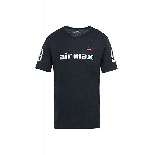 Nike Air Max 97 Tee Black/Silver - Talla - M