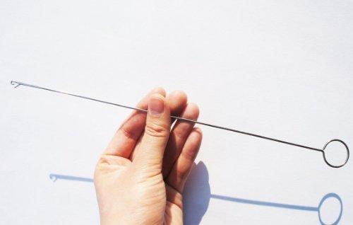 Fendii 1 x Kreise lange Häkelhose Tumbling Device Loop Turner 26,7 cm Lange Turner