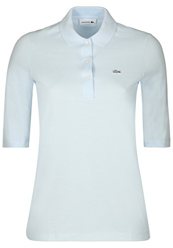 Lacoste Damen Poloshirt Kurzarm bleu (50) 42
