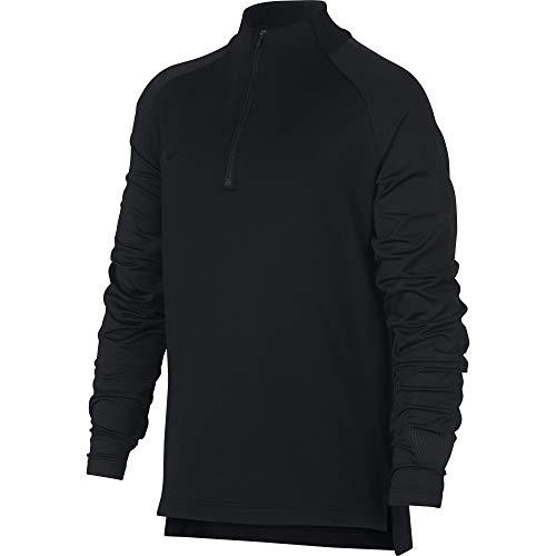 Nike Jungen Breathe Squad Drill Langarmshirt, Black, L