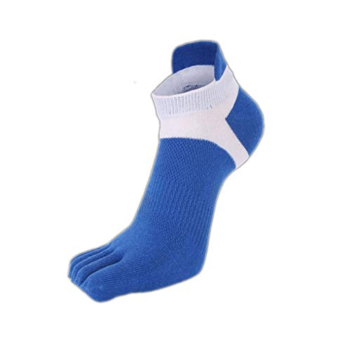 Cdrox Männer Nicht Beleg Breathable Footcare Short Cotton Mesh-Five-Socken -