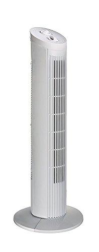 TronicXL Profi Turm Ventilator Turmventilator Klima Tower Standventilator Säule Raum Büro - mit Timer - 3 Stufen - Klimaanlage Ventilator Motor