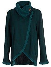 Amazon.fr   Cache Coeur - Manteaux et blousons   Femme   Vêtements 7b598c732aeb