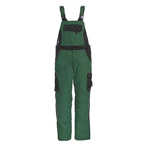 "FHB Latzhose ""Eckhard"" Größe 28, grün / schwarz, 130630-2520-28"