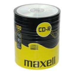 Maxell Eco-Pack CD-R Rohlinge (80Min, 700MB, 52x Speed, 100-er Pack)