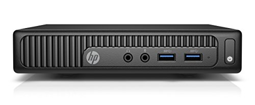 HP 200 Mini 260 G2 2.1GHz 4405U Scrivania Nero