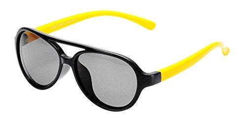 Fuyingda Unisex Kinder Brillen Polarisierte Sportbrille Sonnenbrille Jungen & Mädchen Sports...