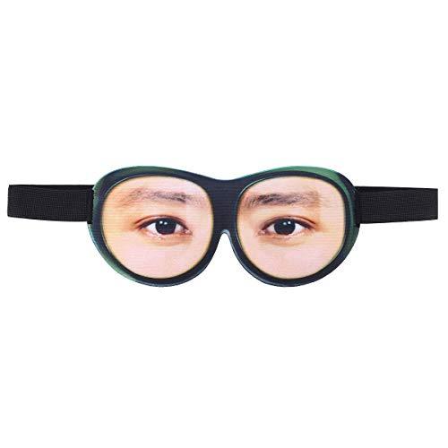 Healifty 3D Lustige Augenmaske Reise Schlafmaske Schlaf Augenbinde für Kinder Männer Frauen