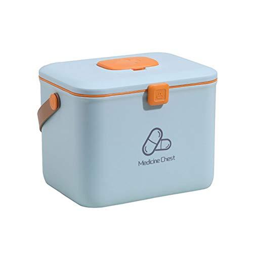 31jd5BPc3SL - Hogar Botiquín de primeros auxilios Caja de almacenamiento Organizador de múltiples capas de la caja de Medicina Médico gabinete de la medicina cajas de almacenaje de contenedores Contenedores