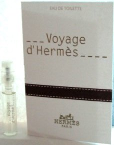 Voyage d'Herm?s .06 oz / 2 ml edt spray Vial Sampler by Voyage d'Hermes edt Mini Vial Spray (Edt Mini Hermes)