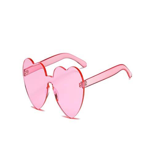 Sportbrillen, Angeln Golfbrille,Love Heart Sunglasses Women Brand Designer New Fashion Cute Sexy Retro Cat Eye Vintage Cheap Sun Glasses Red Female Pink