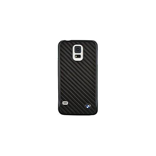 BMW Real Carbon Fiber Tasche für Samsung Galaxy S5 schwarz