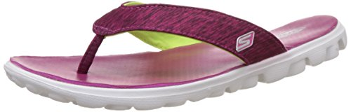 Skechers on The Go Flow, Damen Sandalen, Pink - Pink (PNK) - Größe: 38 EU (Skechers On The Go)