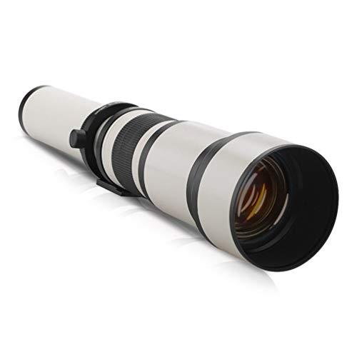 650-1300mm F8.0-16 Supertele Manueller Zoom Kameraobjektiv + T2 Adapter für DSLR Digitalkamera Zubehör