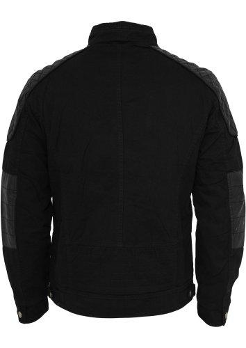 Urban Classics Cotton/Leathermix Racer Red Black