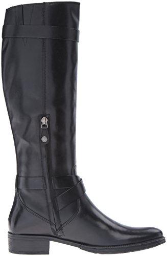 Geox D Mendi D, Stivali da Equitazione Donna Nero (Black C9999)